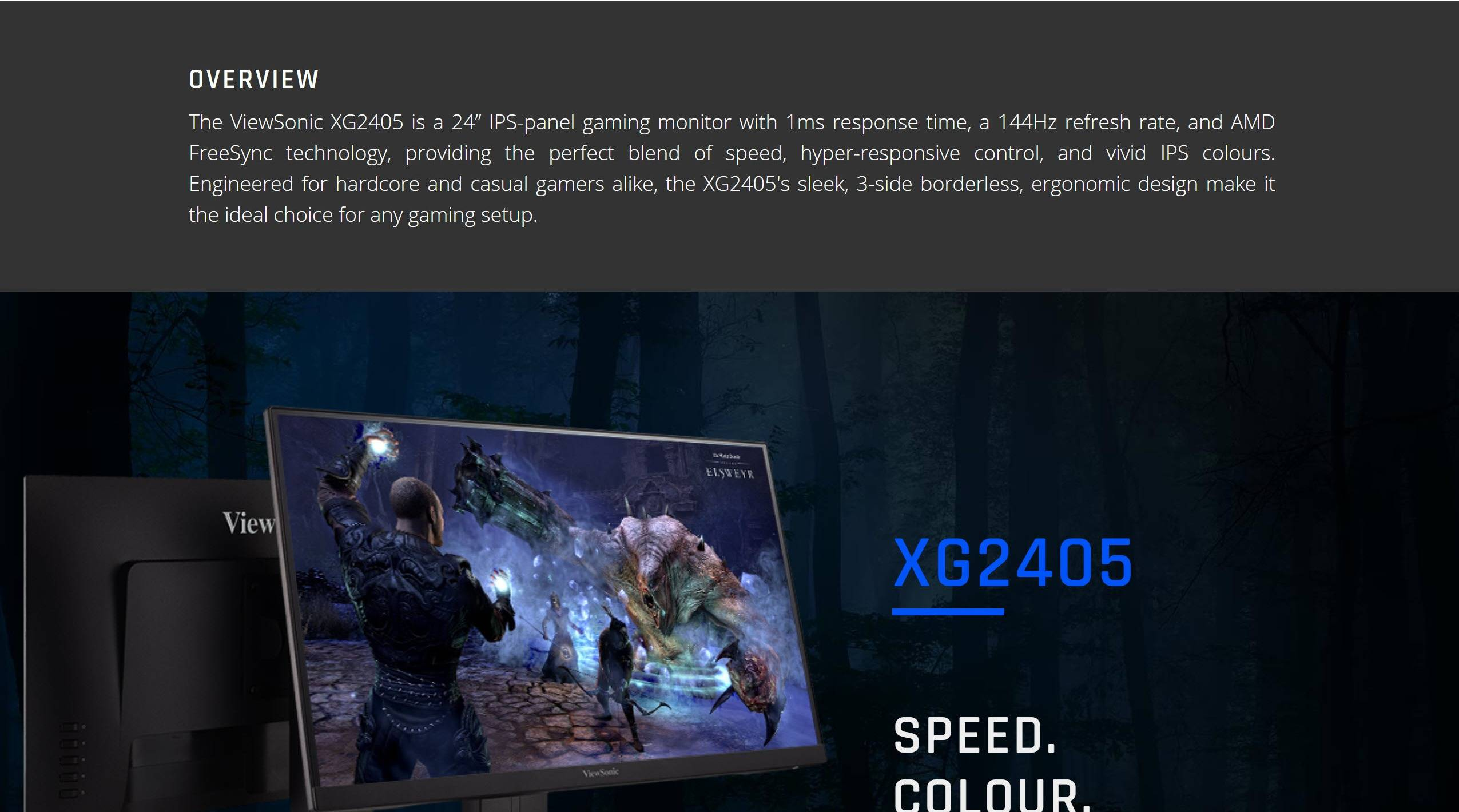 ViewSonic XG2405 Features 03