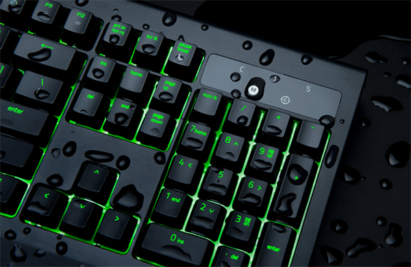 Individually Backlit Keys with Dynamic Lighting Effects